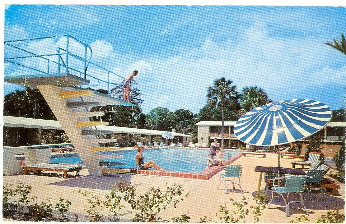 Rooms: Vintage Florida Postcard