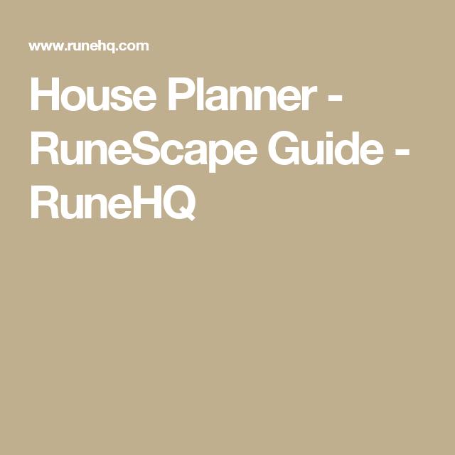House Planner - RuneScape Guide - RuneHQ   Runescape   Home ... on wurm online house planner, terraria house planner, runescape poh planner, minecraft house planner,