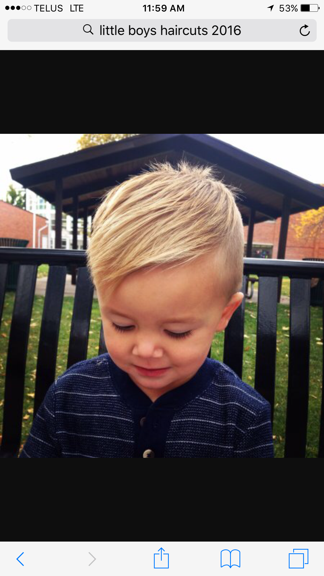 Boy haircut Baby Pinterest
