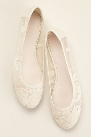 4c3d1251bfa Delicate lace adds a romantic touch to this Melissa Sweet ballet flat!  Ballet flat features feminine sheer lace and mesh. Fully Lined. Synthetic  sole.