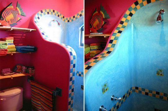 mexicano-baño-influencia casas y cosas Pinterest Mexicanos