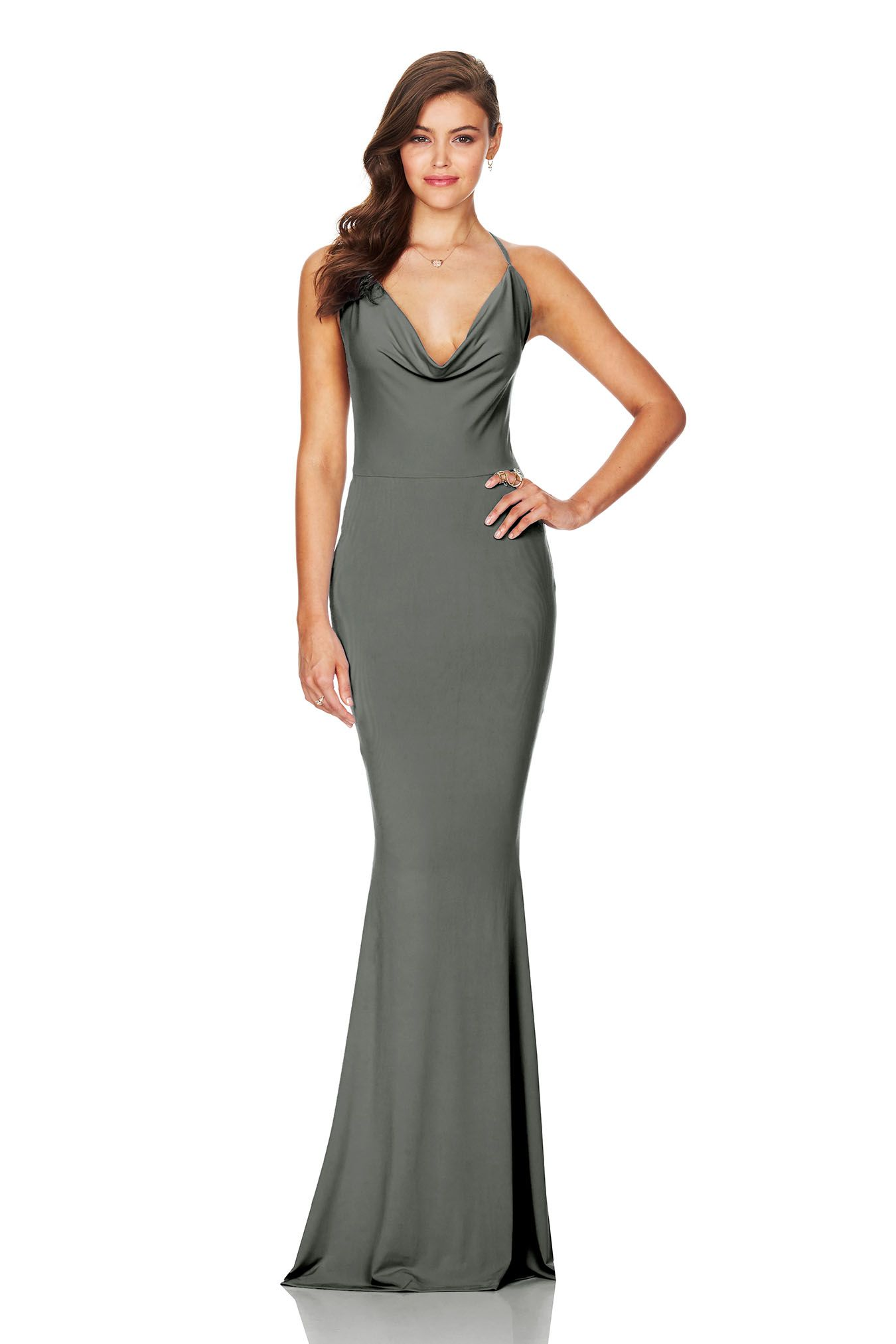 Hustle Maxi Dress Olive (PREORDER) | Maxi dresses, Body con and ...