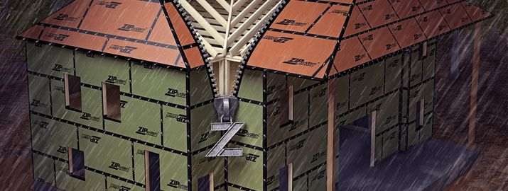 Zip Roofing Panels Roofing System Roof Sheathing Zip System Wall Sheathing Plywood Roof Sheathing Huber Engine Roof Sheathing Roofing Systems Roof Panels