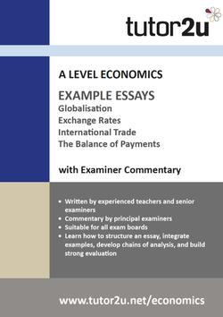 tutor2u economics essay plans