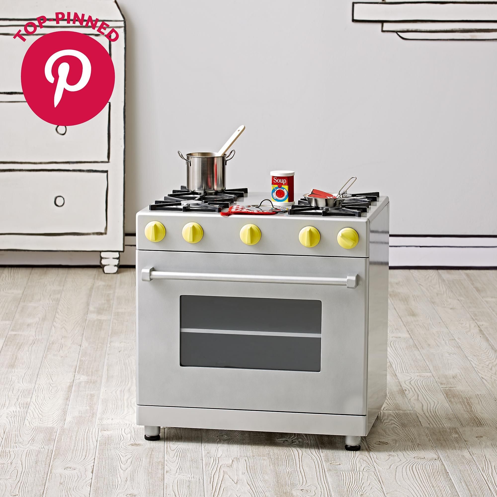 Future Foodie Play Oven | The Land of Nod | Play kitchen ...
