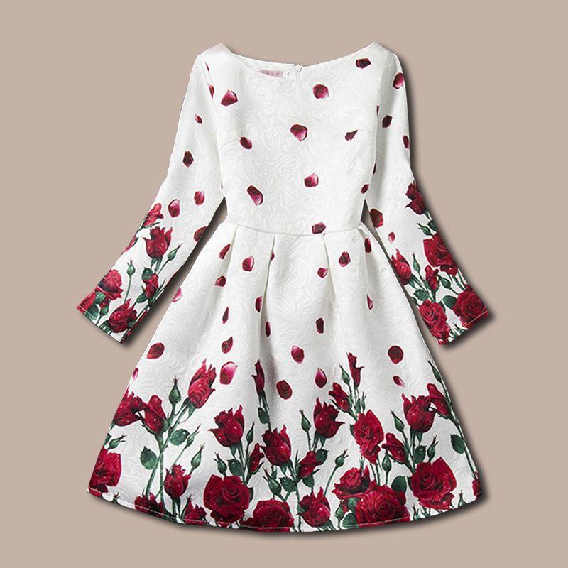 574b75e2038 Online Shop 2018 New Year Dresses For Girls Clothes For 5-10 11 Girls  Princess Deguisement Autumn Teenager Dresses For Girls