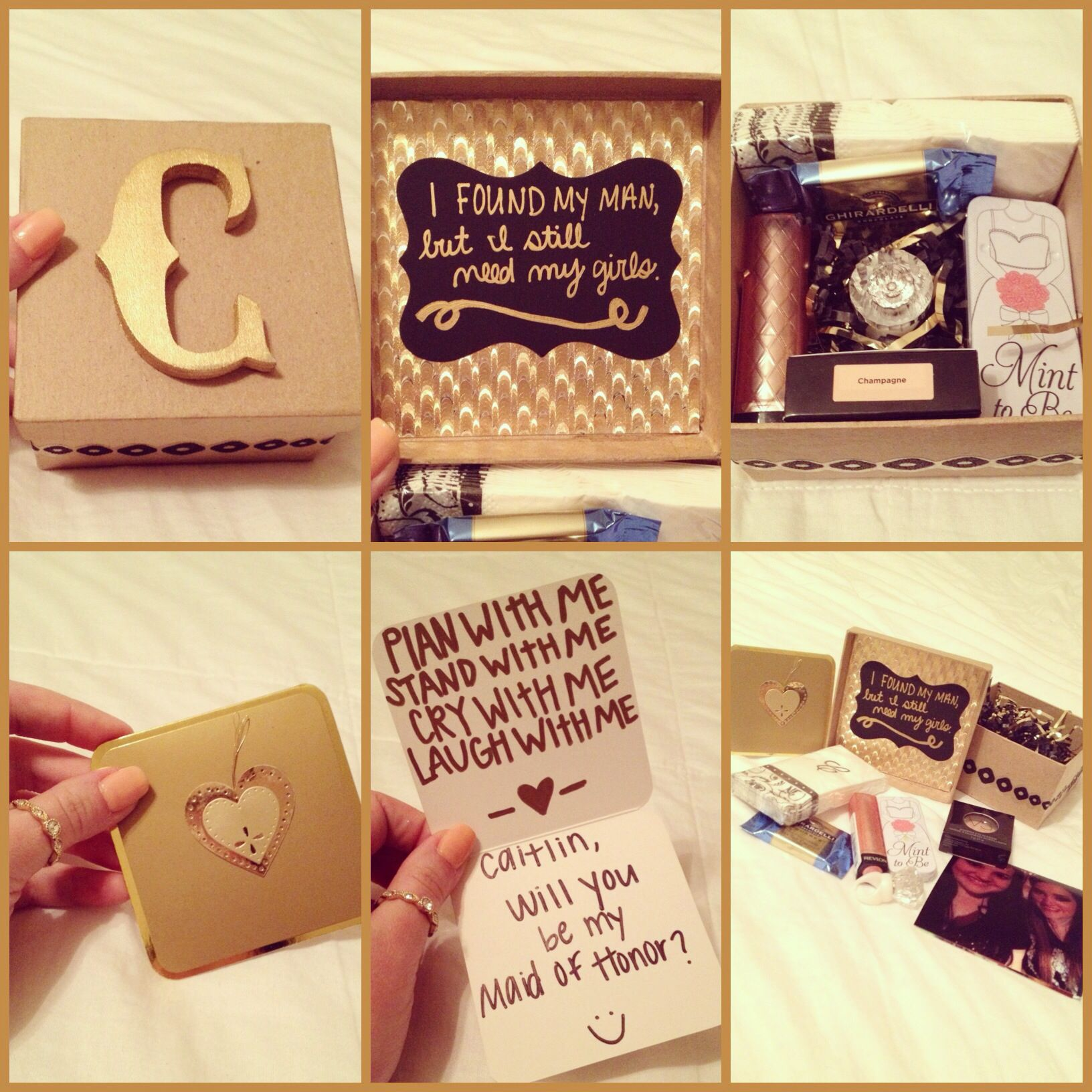 How My Sister Asked Her Bridal Party To Be In Wedding Ask BridesmaidsWedding