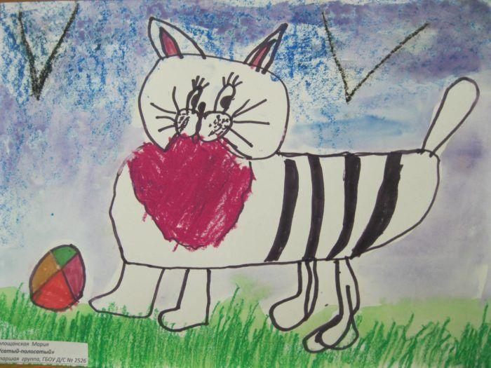 Конспект рисование с натуры животных