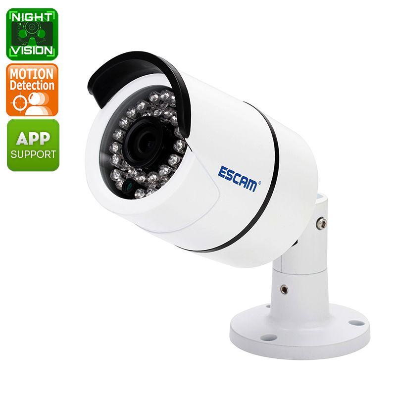 ESCAM QD410 Waterproof IP Camera (2592x1520, iPhone
