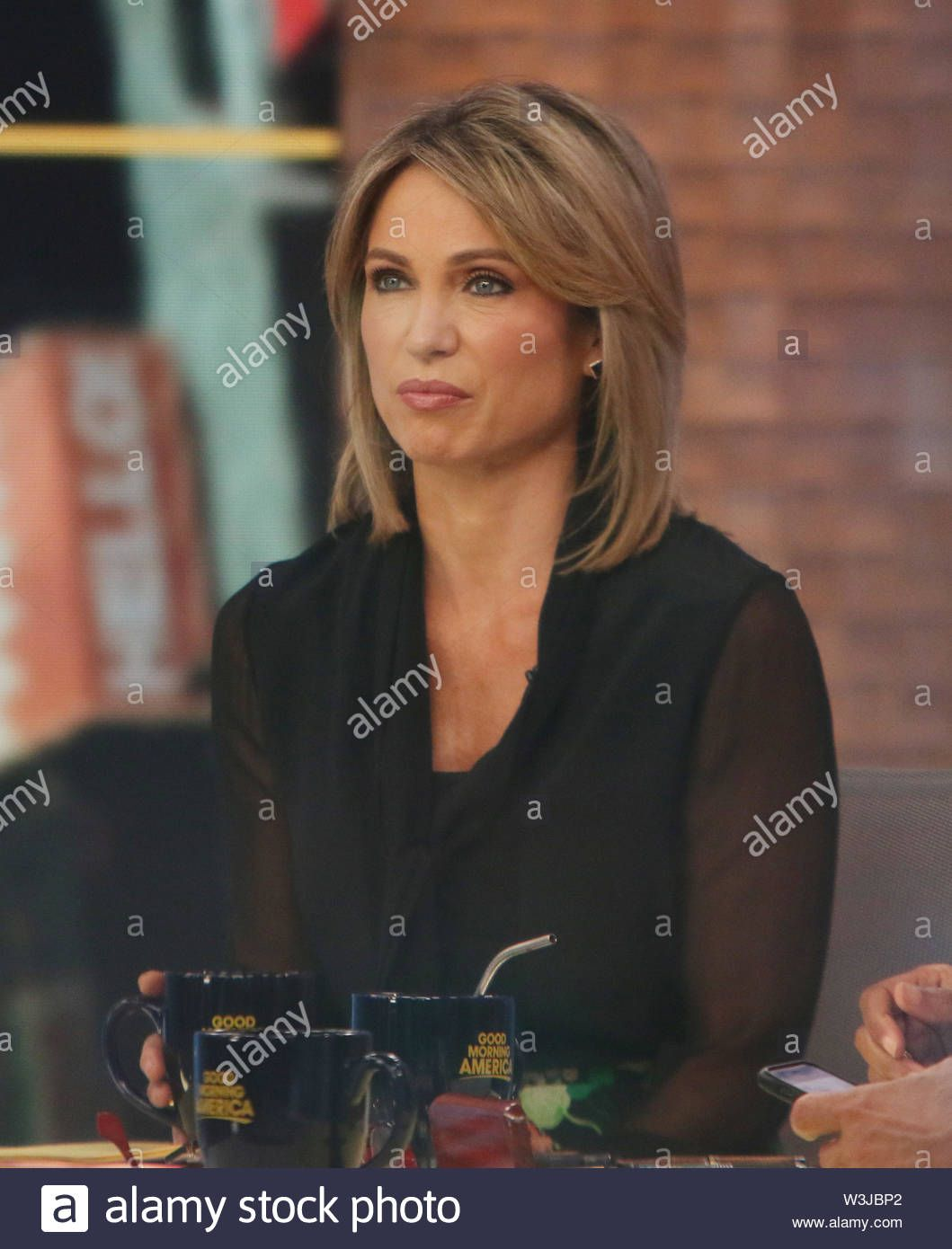 Download This Stock Image July 15 2019 Amy Robach On Good Morning America In New York July 15 2019 Credit Rw Mediapunch Amy Robach Good Morning America Amy