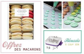 macarons http://www.cook-and-gift.com/ (avec images)   Cadeaux gourmands, Fait maison