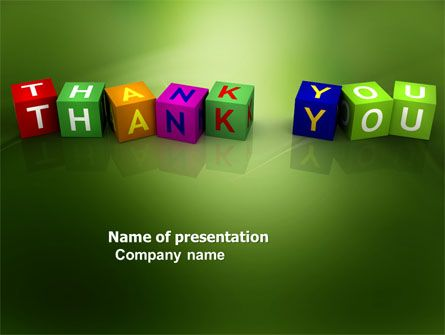 http://www.pptstar/powerpoint/template/thank-you-cubes/ thank, Presentation templates
