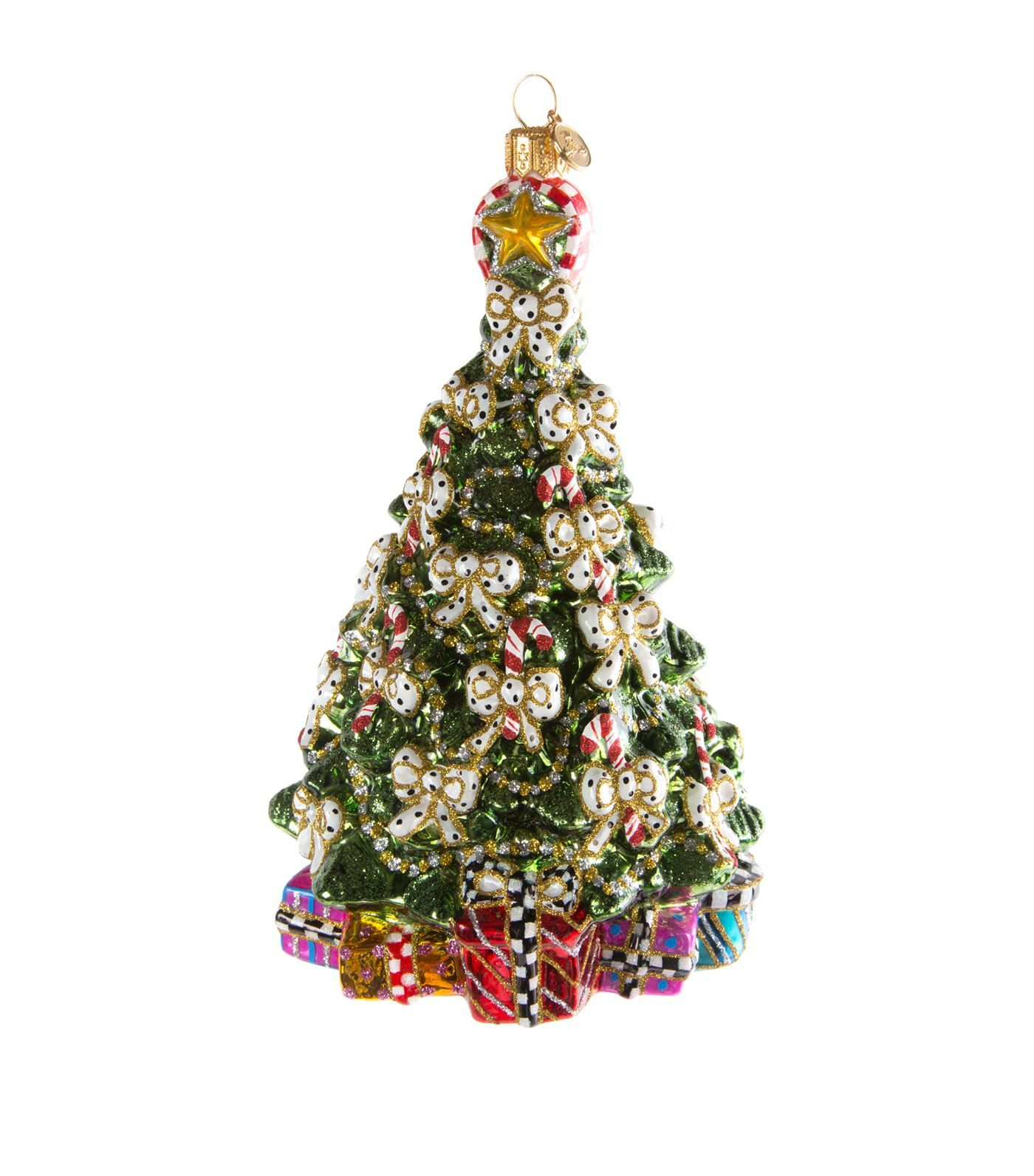 Mackenzie Childs Candy Cane Christmas Tree Decoration - Harrodscom