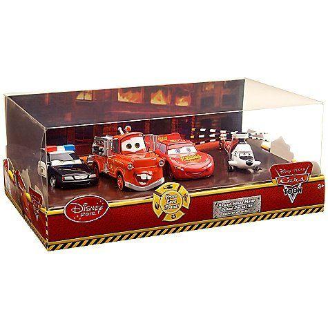 Disney Pixar Cars Toon Exclusive 148 Die Cast 4pack Rescue Squad
