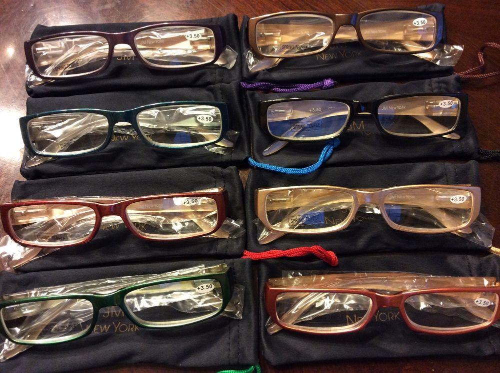 b705afb22b2 JM NEW YORK READERS READING GLASSES +1.00 +1.50 +2.50 +3.00 +3.50 NWT  spring  JoyMangano
