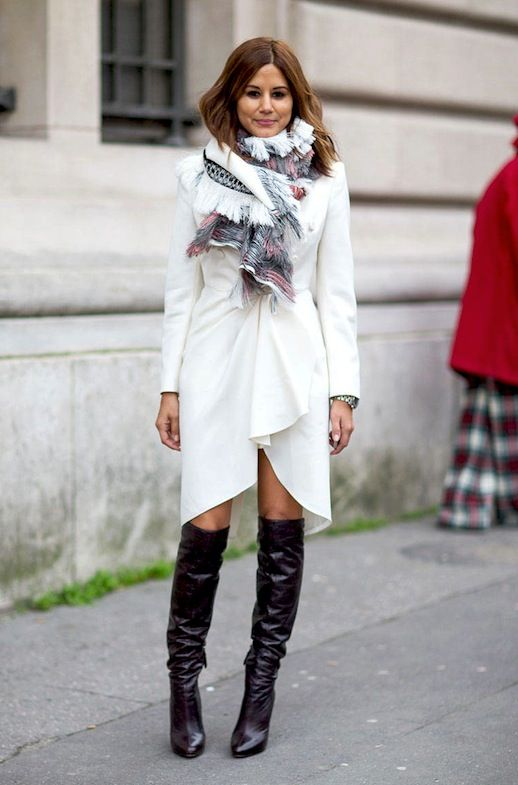 A Fashion Editor-Approved Way To Wear Knee-High Boots (Le Fashion ...