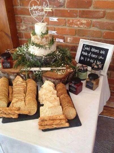 Cheese Wedding Cakes Wiltshire