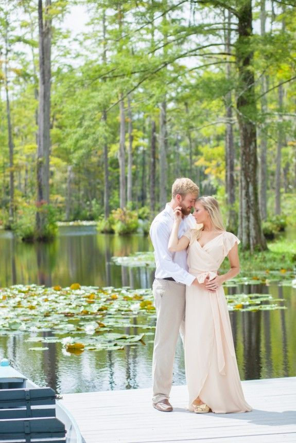 Cypress Gardens Engagement Session In Charleston Sc