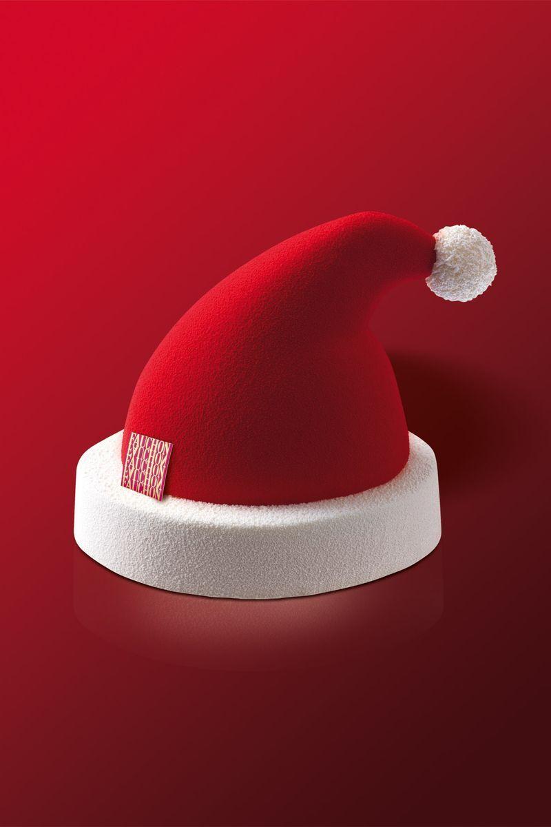 Le bonnet du Père Noël - Fauchon 2002                                                                                                                                                      Más