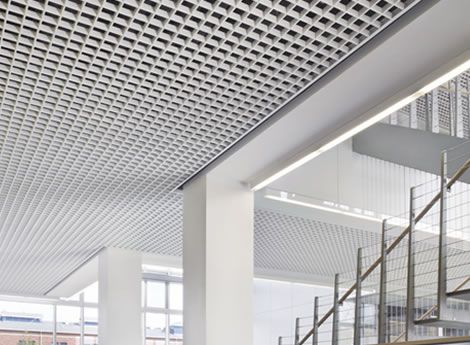 p perforated ceiling metal tile ft toptile tiles case drop ceilings x white of