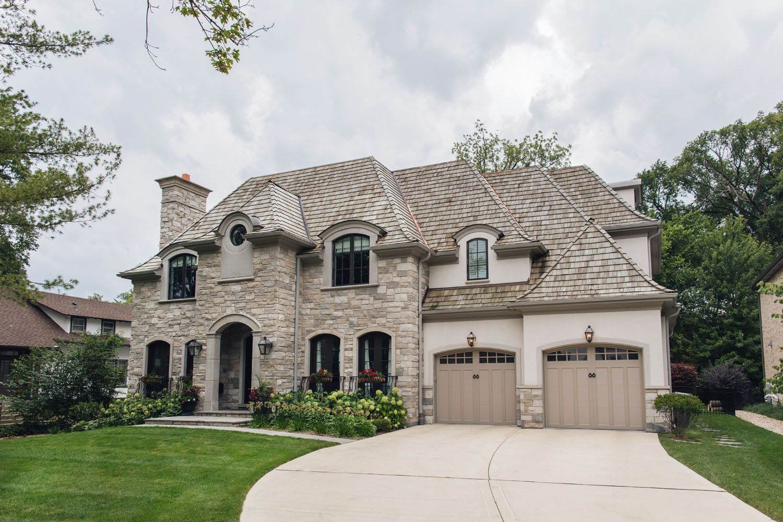 An Elegant European Style Home In The Suburbs Of Chicago Rue In 2020 European Style Homes Chicago House Dream House Exterior