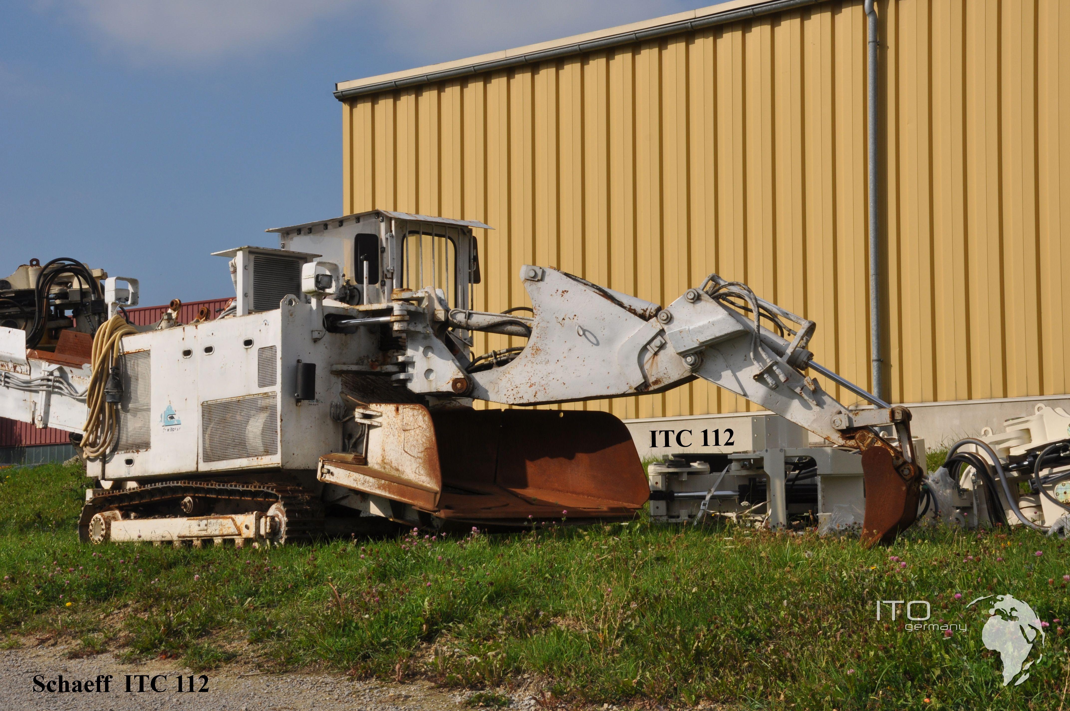Bilder Galerie Tunnelbagger Schaeff Itc 112 In Weiß Mit Elektro Antrieb Http Www Ito Germany De Kaufen Gebrauchter