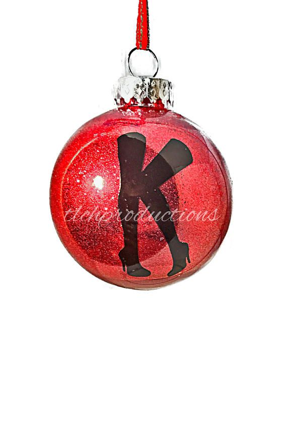 Kinky Boots Broadway Glitter Ball Holiday Christmas Ornaments by ...