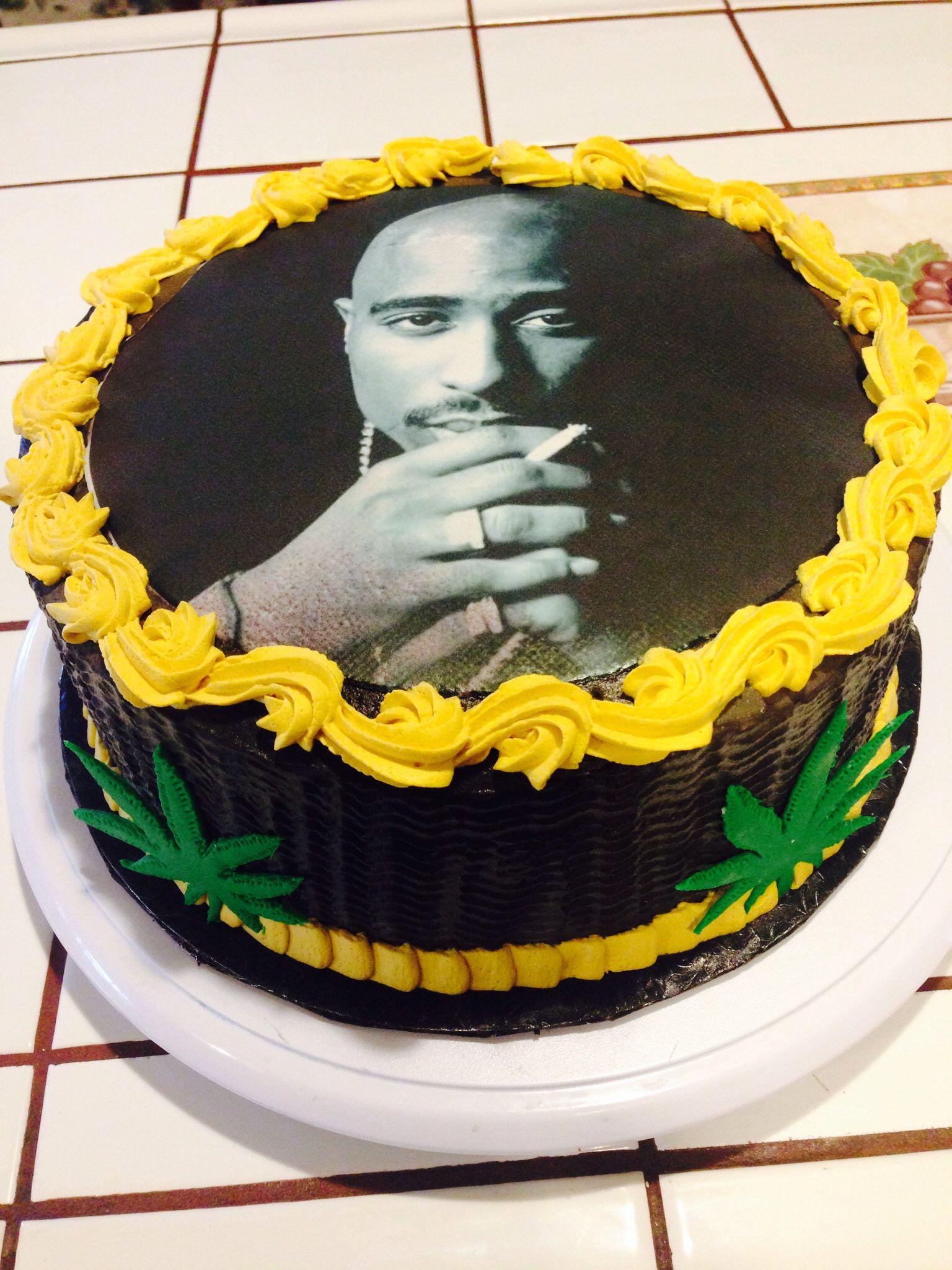 Tupac Birthday Cake ALWAYS AND WILL BE 1 Pinterest