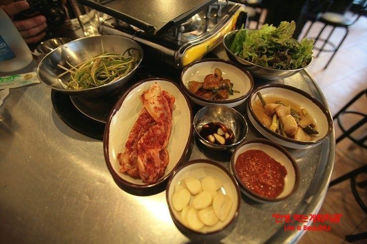 맛집/여행 - 연탄의추억,,,연탄에 굽는 불고기!!