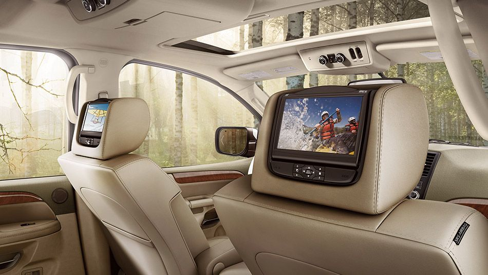 Nissan Mobile Entertainment System With Dual 7in Head Restraint