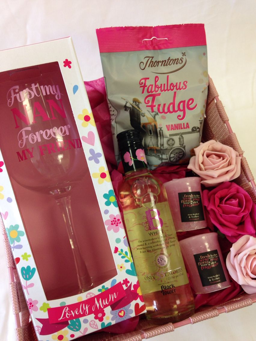 Happy Mothers Day Hamper For Nan Angel Surprise Presents For Nan Gifts For Nan Gift Hampers