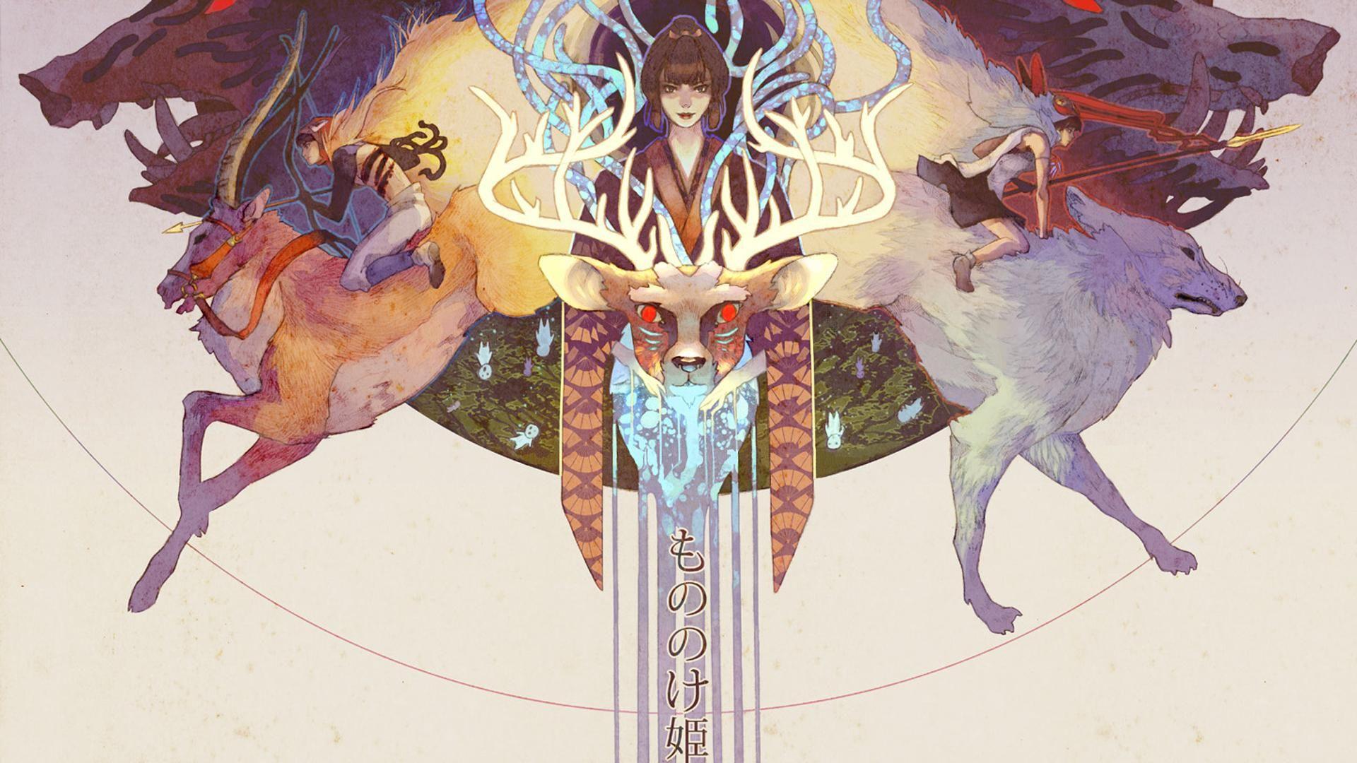 Princess Mononoke Wallpaper Art Studio Ghibli Art Studio Ghibli Princess Mononoke Art