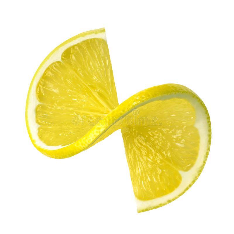 Lemon Twist Slice Isolated On White Background Fresh Lemon Twist Slice Isolated Sponsored Isolated White Slic Lemon Background White Background Twist