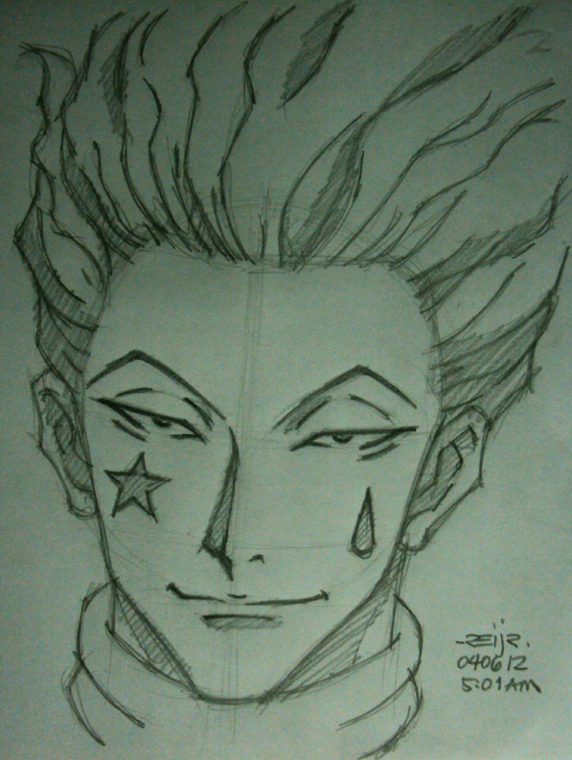 Hisoka By Reijr On Deviantart In 2020 Anime Character Drawing Anime Sketch Hunter Anime