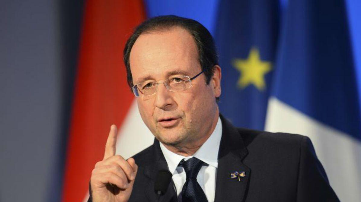 Hollande se convierte en el primer presidente francés que renuncia a la reelección