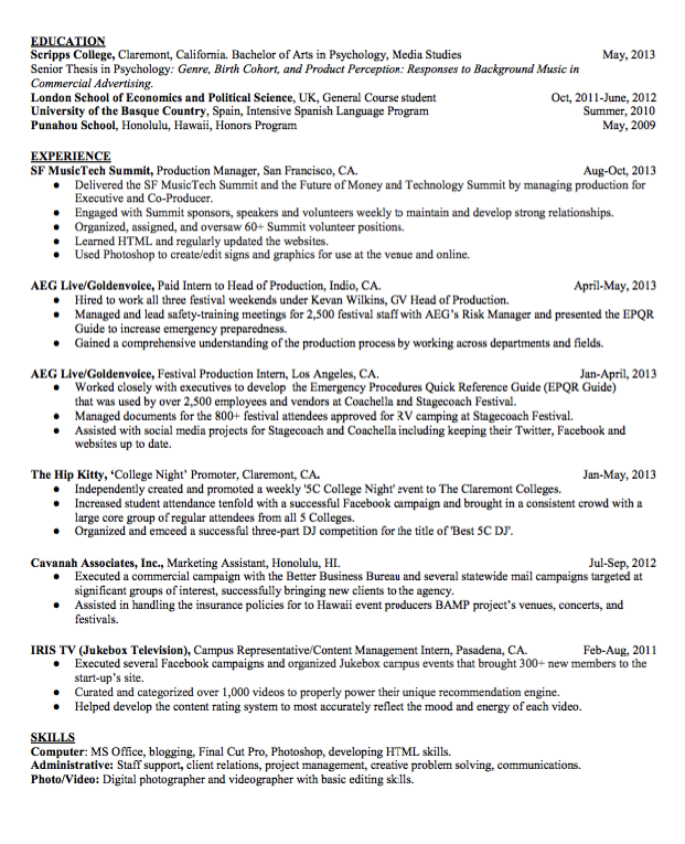It Manager Resume Sample Production Manager Resume  Httpexampleresumecv