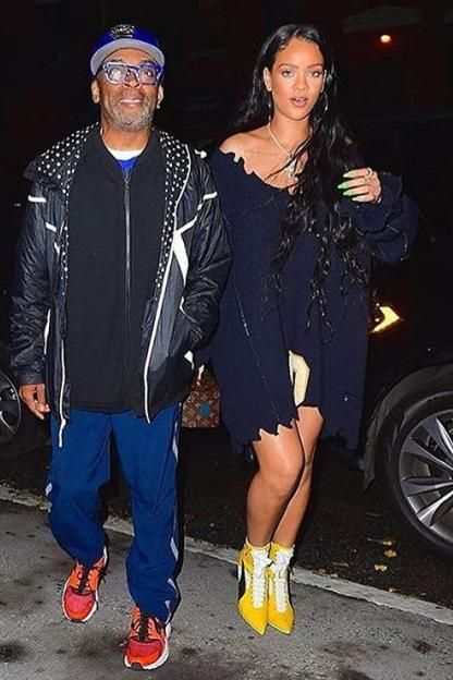 Rihanna wearing Louis Vuitton X Frank Gehry Twisted Box Bag 5b0b41ac3
