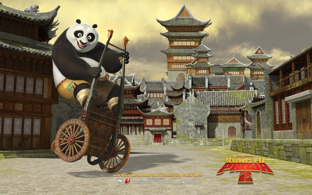Kungfu Panda 2 awesome...\u0027The only thing that matters is what you choose to be now\u0027