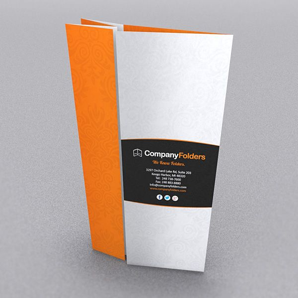 Stylish Folder  Brochure Folds For Print Designers  Design