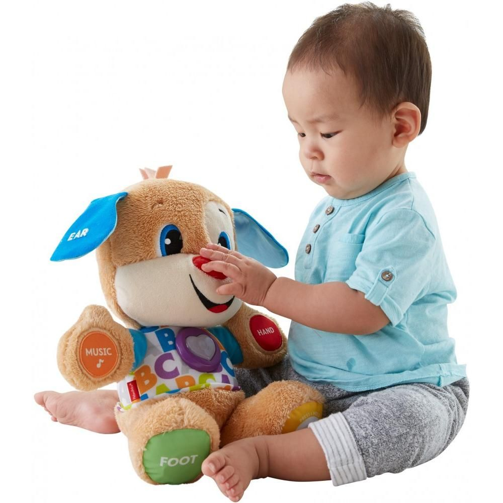 Fisherprice laugh learn smart stages puppy with 75