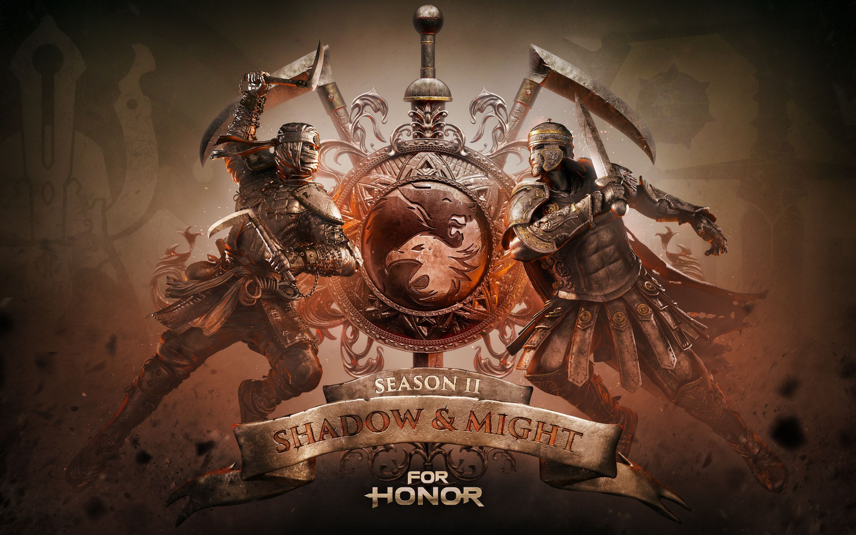 For Honor Season Two Shadow And Might Gaming Wallpapers Shadow Seasons