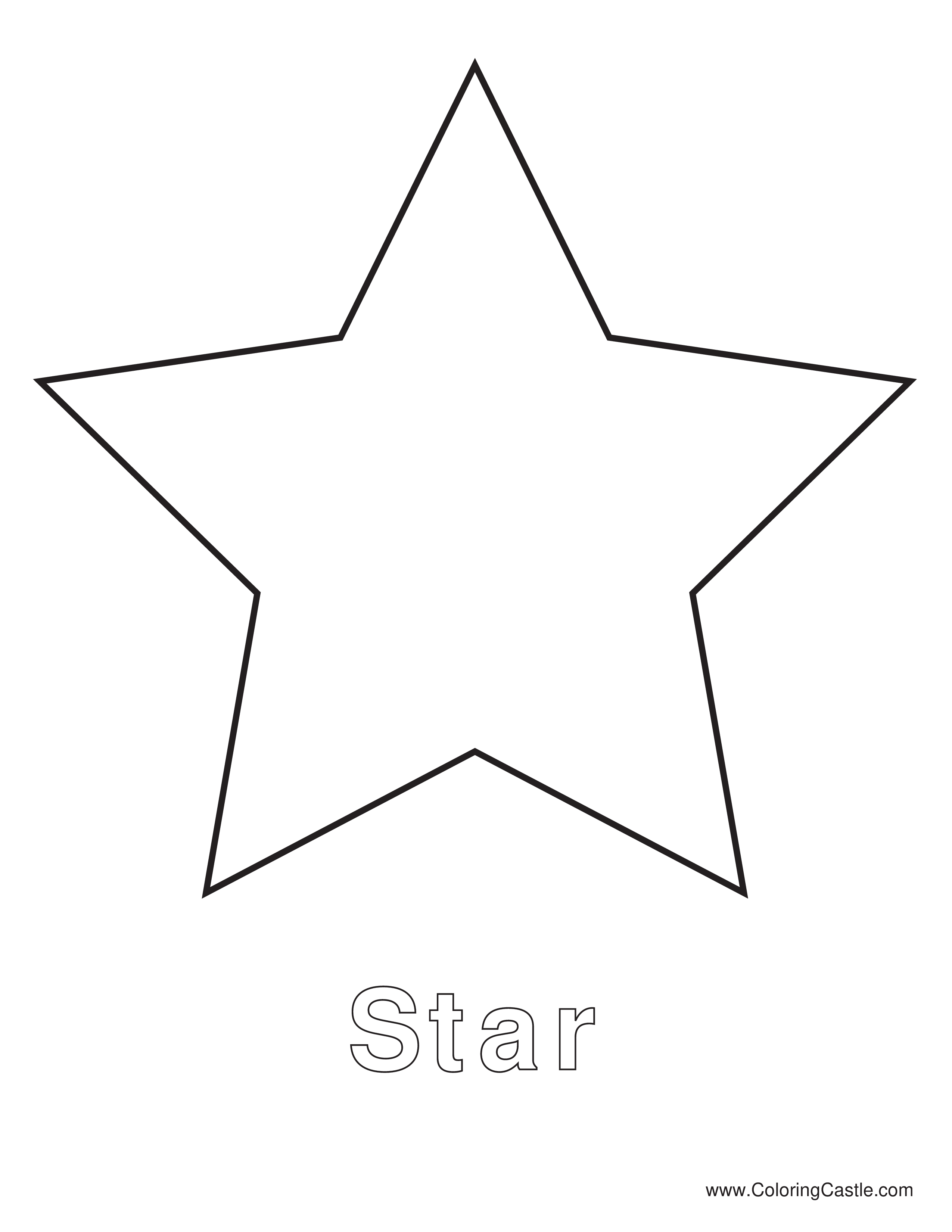 Simple Star Template