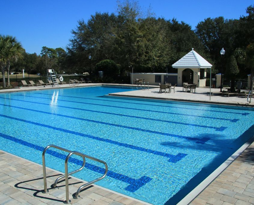 One Of The Highlights Of The Community Is A Junior Olympic Sized Swimming Pool Which Is Open To Re Swimming Pool Size Olympic Size Swimming Pool Swimming Pools