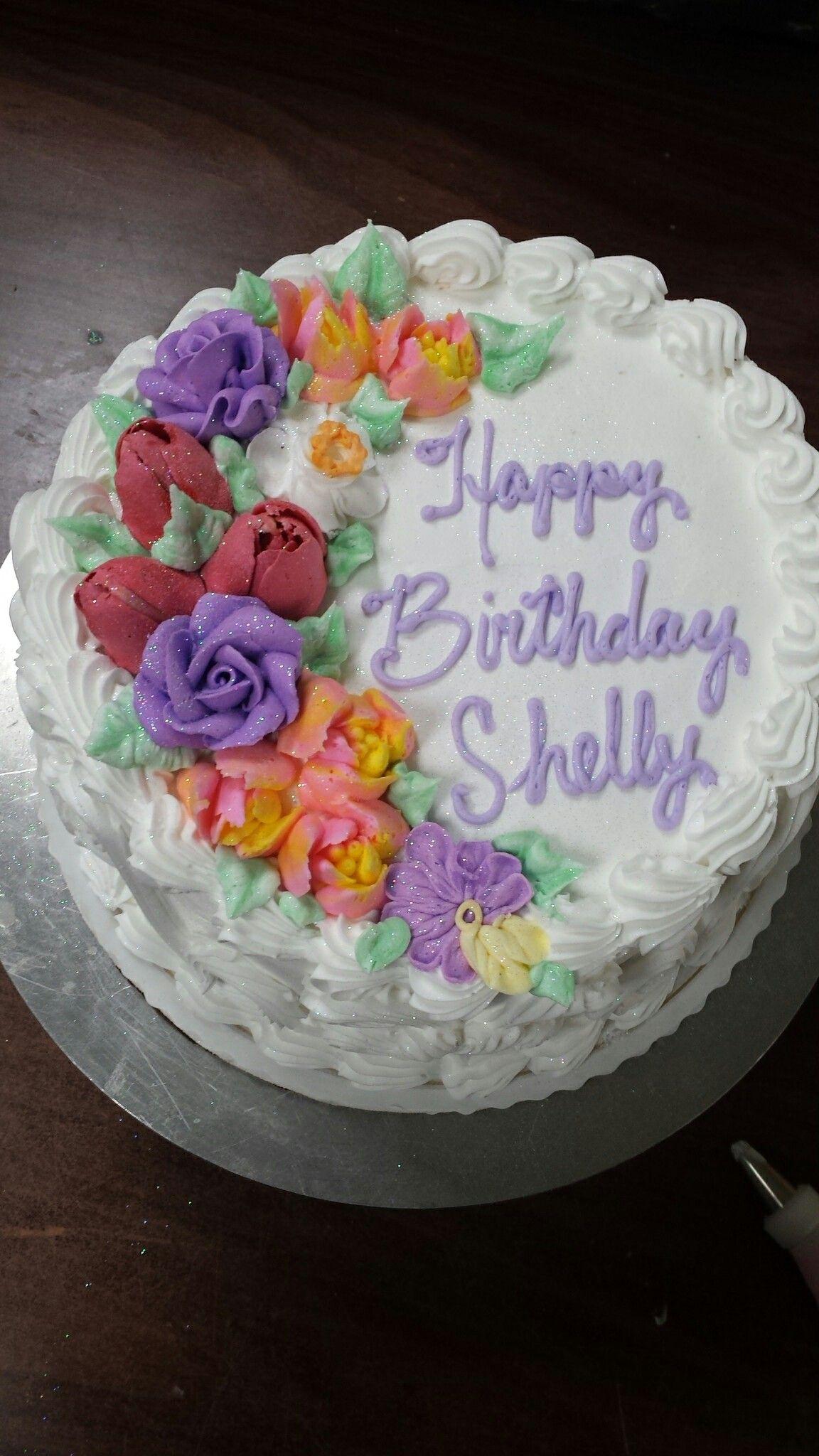 Spring flowers are the prettiest birthday cakes karens cakes kw spring flowers are the prettiest birthday cakes publicscrutiny Choice Image