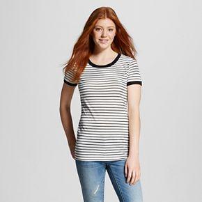 Women's Short Sleeve Crew Neck T-Shirt - Mossimo Supply Co.™ (Juniors')