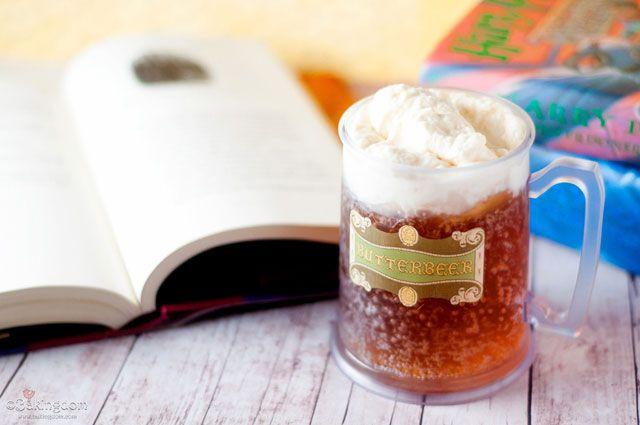 Homemade Harry Potter Butterbeer Butter beer Butterbeer recipe