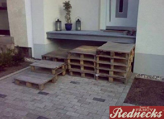 Diy Pallet Furniture Outdoor Patio Front Porches