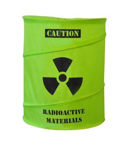 Atomfass Wäschekorb - Garantiert ungefährliches Zwischenlager - Geschenkideen für Männer