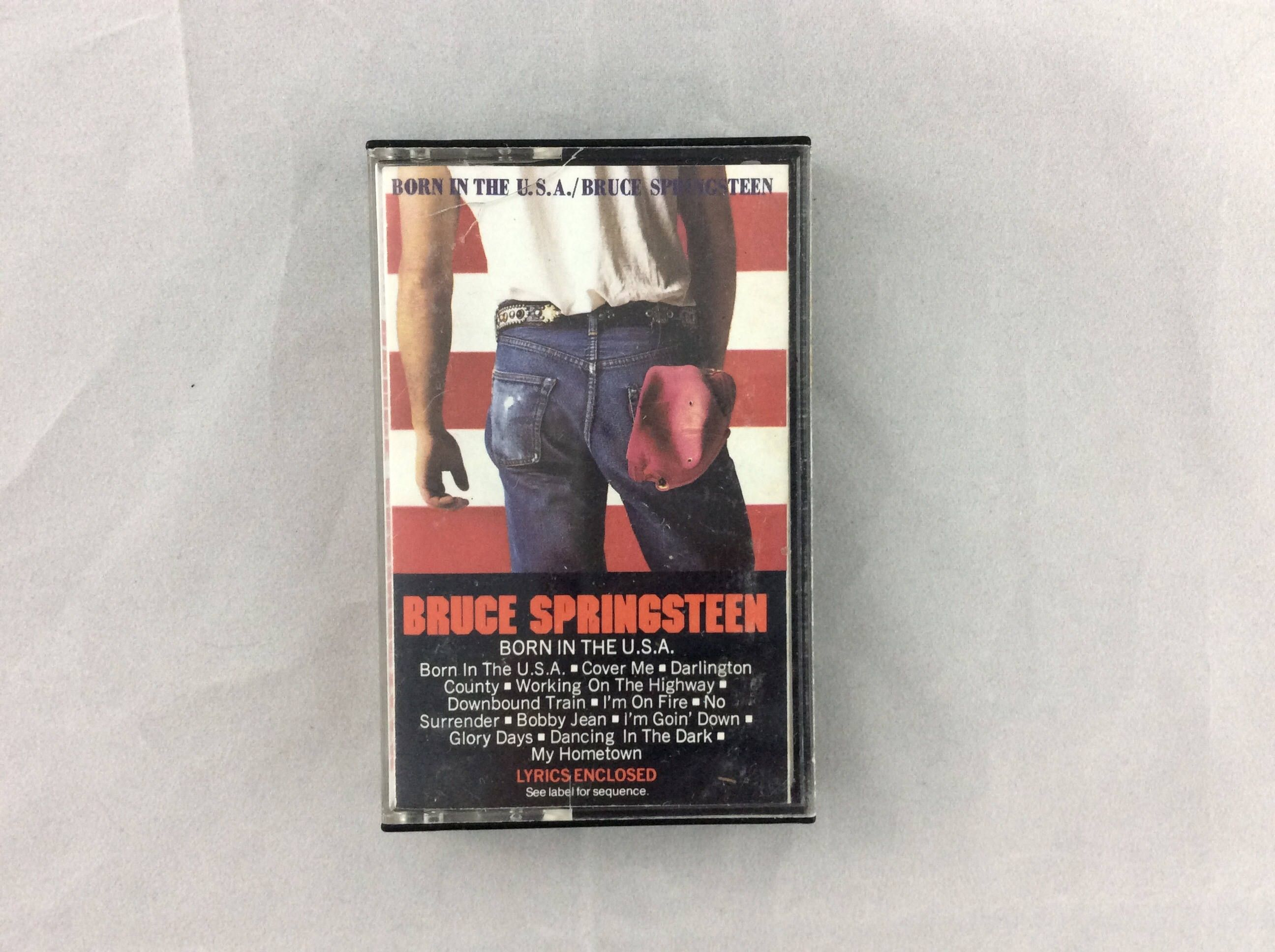 Cassette Tape Bruce Springsteen Born In The U.S.A. by