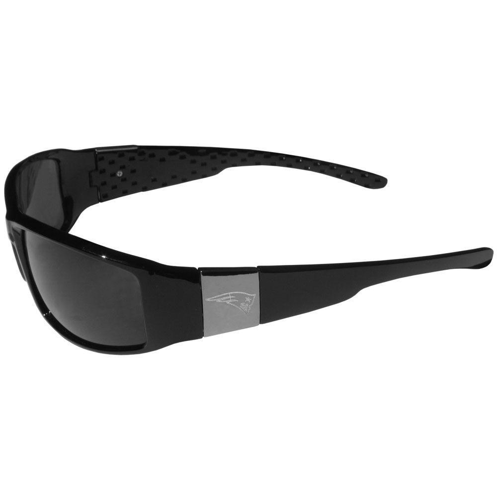 New England Patriots Chrome Wrap Sunglasses